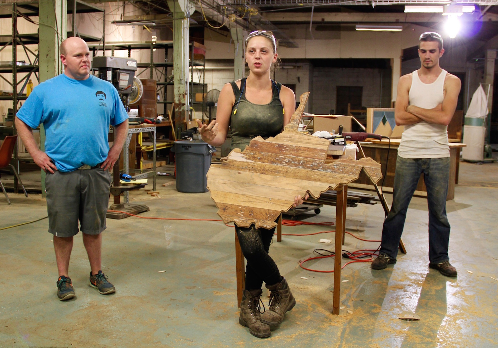 Woodworking at Coalfield Development Corporation